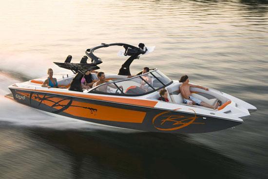wakesurf & wakeboard boats